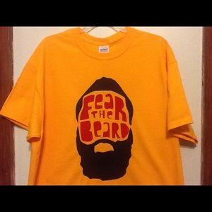 "James Harden ""Fear The Beard"" T-shirt."